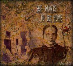 "Digital Art by *Silkku* ""She Wants To Go Home"" silkkus.blogspot.fi"