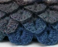 The Crocodile Stitch with Video Tutorial & Free Scarf Pattern