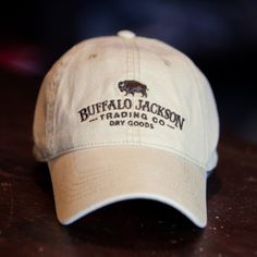 Buffalo Jackson Trading Co Logo Hat
