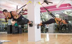 trx straps for the workout room
