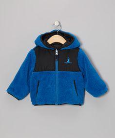 Royal & Black Reversible Sherpa Coat - Toddler & Boys http://www.zulily.com/invite/apopov038
