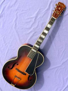 "Mid-30's LaSalle Model ""C"" Jazz Guitar, Music Instruments, Model, Musical Instruments, Scale Model, Models, Template, Pattern"