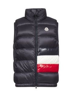 Moncler Contrasting Panelled Down In Multi Nike Clothes Mens, Padded Jacket, Nike Outfits, Moncler, Contrast, Winter Jackets, Mens Fashion, Designer Clothing, Casual