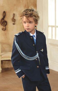 Traje Primera #Comunion de niño. Modelo marinero de #ElCorteIngles