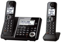 PANASONIC KX-TGF342B Expandable Digital Cordless, Ans Sys, Talking Caller ID #Panasonic