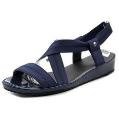 0c5b75c62 Shop for Life Stride Debutante Women Open Toe Canvas Wedge Sandal. Free  Shipping on orders. overstock.com