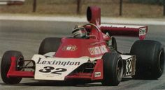 Ian Scheckter Lexington Tyrrell-Ford, South Africa Qual out of 28 - retired/accident lap 55 Racing Team, Auto Racing, F1 Drivers, Indy Cars, Formula One, Grand Prix, Cars And Motorcycles, Race Cars, South Africa