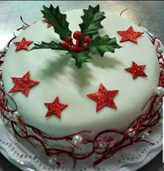 Greek Sweets, Christmas Cake Decorations, Greek Cooking, Recipe Boards, Greek Recipes, Dear Santa, Cake Designs, Christmas Time, Food Processor Recipes