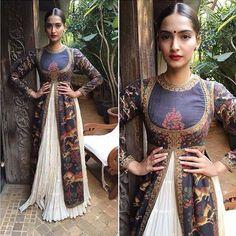 Dressed for Diwali - Sonam Kapoor