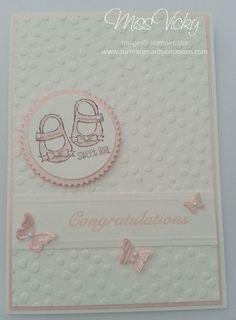 Cards - Baby Girl Stamp Set - Baby, We've Grown Stampin' Up!