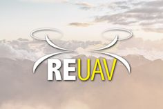 Logo Design | RE UAV | Graphic Design by Flawless Media