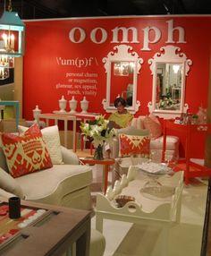 Oomph showroom at HP Market