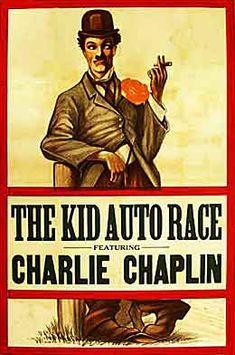 charlie chaplin kid auto race 1915 poster