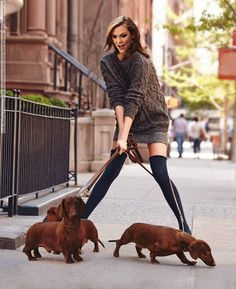 Karlie Kloss for Neiman Marcus Book (October 2014) photo shoot by Walter...