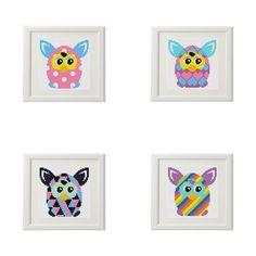 Cross stitch pattern baby Animal Collage Set от AnimalsCrossStitch