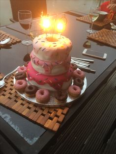 Birthday Cake: donut