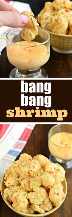Baked, not fried, Bang Bang Shrimp is a quick and easy weeknight dinner idea with a tangy, yet sweet sauce!