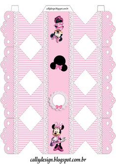 Risultati immagini per Caixa de Bala Mickey Mouse template Mickey Minnie Mouse, Mickey Mouse Template, Theme Mickey, Minnie Mouse Party Decorations, Mouse Parties, Pink Birthday, Mickey Mouse Birthday, Masha Et Mishka, Cardboard Box Crafts