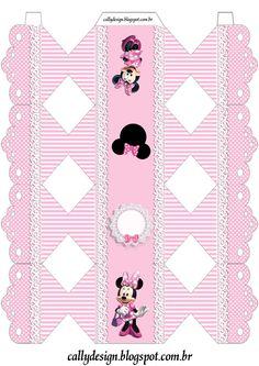 caixa bala renda minnie rosa                                                                                                                                                      Mais