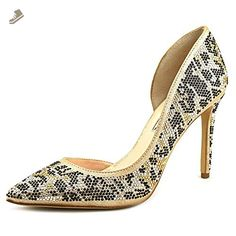INC International Concepts Kenjay 3 Women US 9 Gold Heels - Inc international concepts pumps for women (*Amazon Partner-Link)