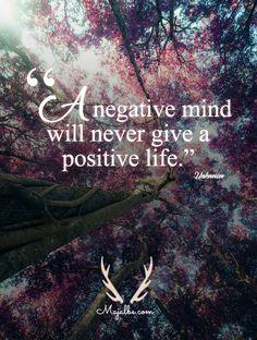 Negative Mind Love Quotes
