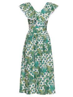 Florrie cotton-twill midi wrap-dress | Temperley London | MATCHESFASHION.COM AU