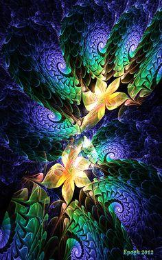 Floretics by Epogh.deviantart.com on @DeviantArt