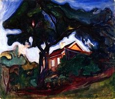 The Apple Tree Edvard Munch - 1902