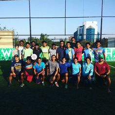 We threw the disc around with this awesome bunch of ppl at the new Gamechanger turf atop Ultimate Frisbee, Squad Goals, Rooftop, Sunday, India, Play, Awesome, Domingo, Delhi India