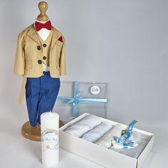 Trusou Botez Complet Albert - Costum cu Trusou si Lumanare - 15%OFF Tudor, Costume, Casual, Jackets, Fashion, Note, Down Jackets, Moda, La Mode