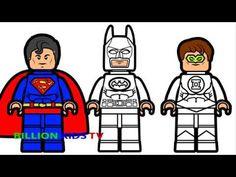 Lego Spiderman and Lego Ant Man & Lego Martian Manhunter ...