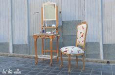 portada_tocador_Lavandula Chair, Furniture, Home Decor, Environment, Powder Room, Wedding Decoration, Chairs, Decoration Home, Room Decor