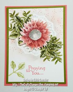 Here is a peek of a card I designed with the new Painted Harvest stamp set and Leaf Punch bundle (146021) that is in the 2017 Holiday Catalog by Stampin' Up!, available to customers starting September 1st on my website.  Stop by my shop to get this beautiful set and save 10% when you purchase the bundle. Also sold individually if you only want one of the products.