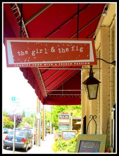 the girl and the fig- Sonoma, CA  The duck is to die for!!!