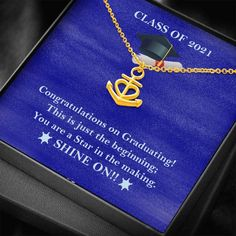 Class of 2021 Graduation, Class of 2021 Strong, Graduate Gift, Persona – Shiny Jewelry Charm