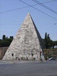 Pyramid of Gaius Cestius - Pyramids on Waymarking.com