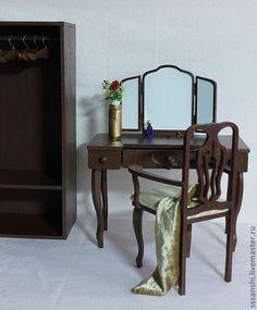 Ett dockhem hand.  Fair Masters - handgjord.  Köp Möbler Set för bjd.  Handgjorda.  handgjorda möbler