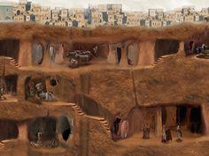 Unhombre remodelaba sucasa ydescubrió toda una ciudad subterránea