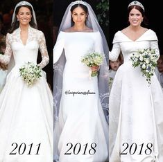 Feb 2019 - William, appeared visibly moved as he watched Harry, with whom he has shared so much, exchanging vows with his bride Royal Wedding Gowns, Royal Weddings, Wedding Bride, Bridal Gowns, Dream Wedding, Wedding Dresses, Wedding Designs, Wedding Styles, Kate Middleton Wedding Dress