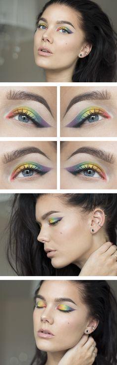 Makeup for Pridefest