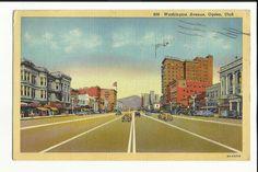 Washington Avenue Ogden Utah