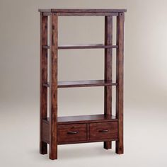 Madera shelving unit, which sadly appears to be discontinued.  Have one by the fireplace.