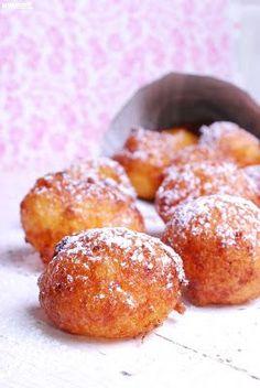 Nyammm: Túrófánk/Ricotta fánk Pretzel Bites, Doughnut, Nutella, Muffin, Sweets, Bread, Snacks, Breakfast, Recipes