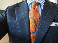 An Affordable Wardrobe: Calling It: Paisley Ties