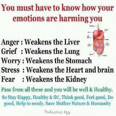 Emotions are harming your body