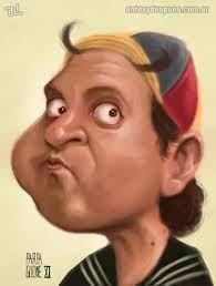 Resultado de imagen de caricaturas graciosas de famosos