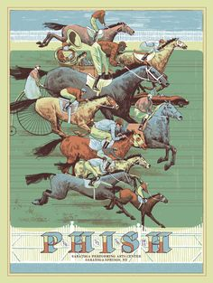 Phish Saratoga 2012 print! take me back