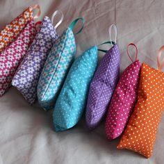 Sachets de lavande à pendre , Tuto pour fabriquer - Loisirs créatifs