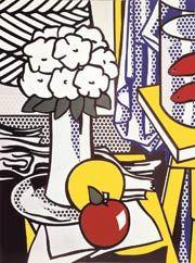 Naturaleza muerta.  Roy Lichtenstein