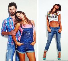 Moda Jeans Taverniti primavera verano 2015 El enterito de jean estara presente esta primavera en numerosas colecciones,un clasico que vuelve
